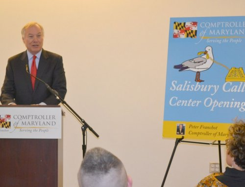 Franchot opens new tax center in Salisbury