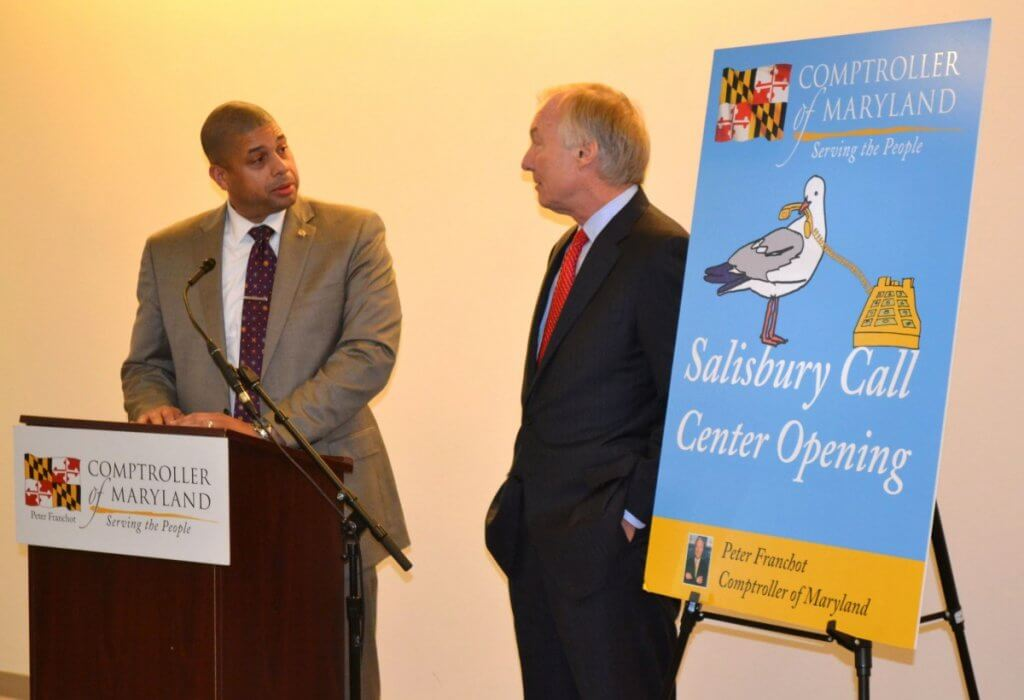 Franchot opens new tax center in Salisbury - Maryland.com