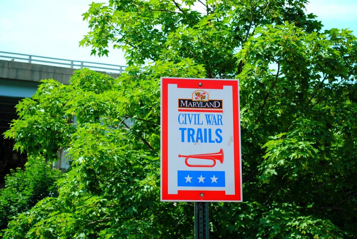Civil war trail